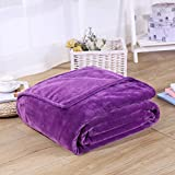 Pinkycolor Flannel Bed Blanket Sheet Extra Soft Warm Plush Easy Care Lightweight Fluffy Bedding Blankets for Kid Children Teen Boy Girl Sleeping