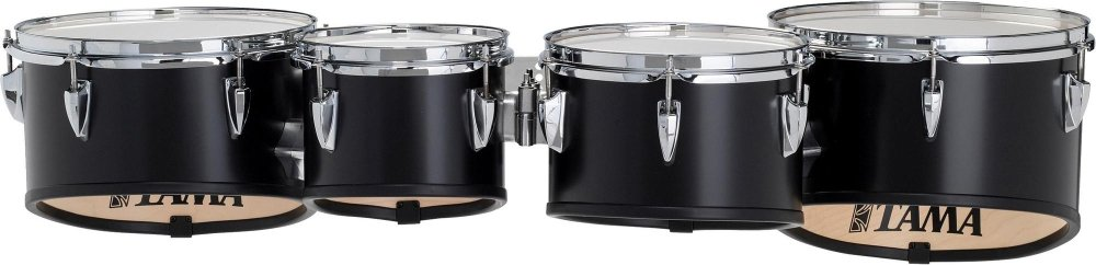 Tama Marching Starlight Tenor Quad 8-10-12-13 8, 10, 12, 13 in. Black