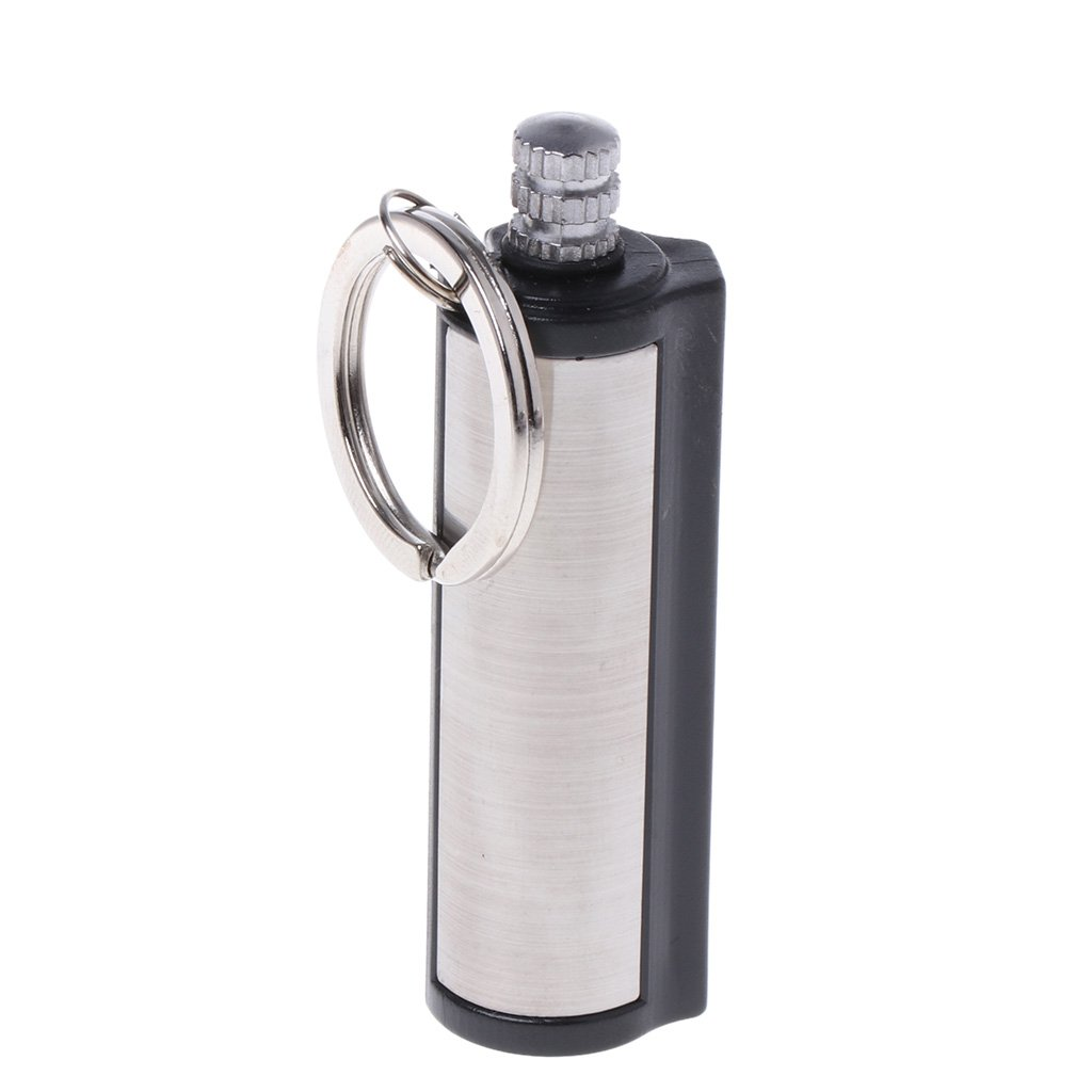JENOR Fashion Briquet permanent Striker en mé tal argenté , 2
