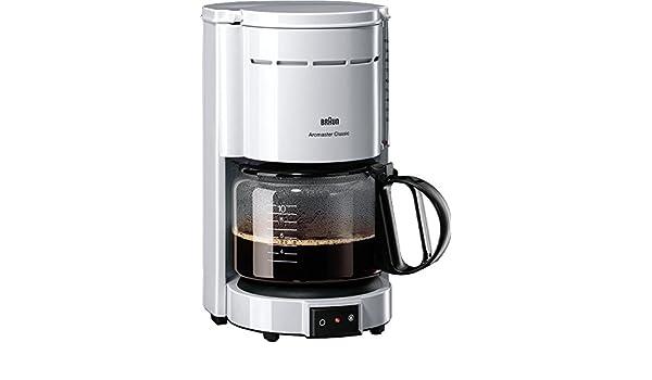 Braun Cafetera De Goteo Kf 47/1 Classic aromaster: Amazon.es: Electrónica
