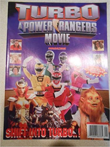 Turbo a Power Rangers Movie Magazine: Phoenix Press Limited: 0071896483765: Amazon.com: Books