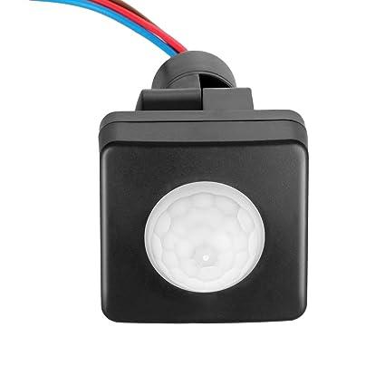 Sensor de movimiento PIR interruptor Sunsbell PIR Infrarrojos cuerpo inducción Sensor de movimiento interruptor de luz