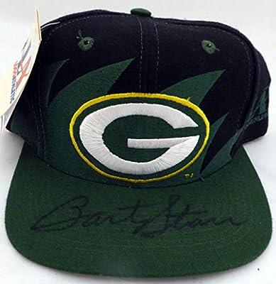Bart Starr Autographed Green Bay Packers Hat Beckett BAS #E95675