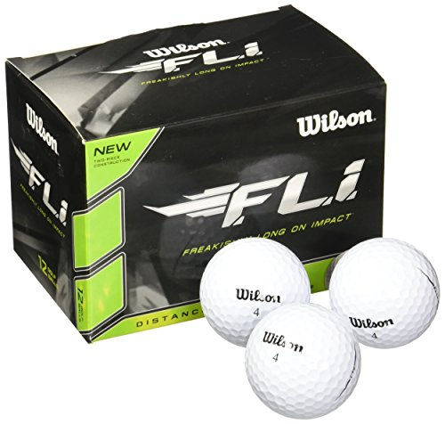 (Wilson Staff F.L.I. Golf Balls (Pack of 12))