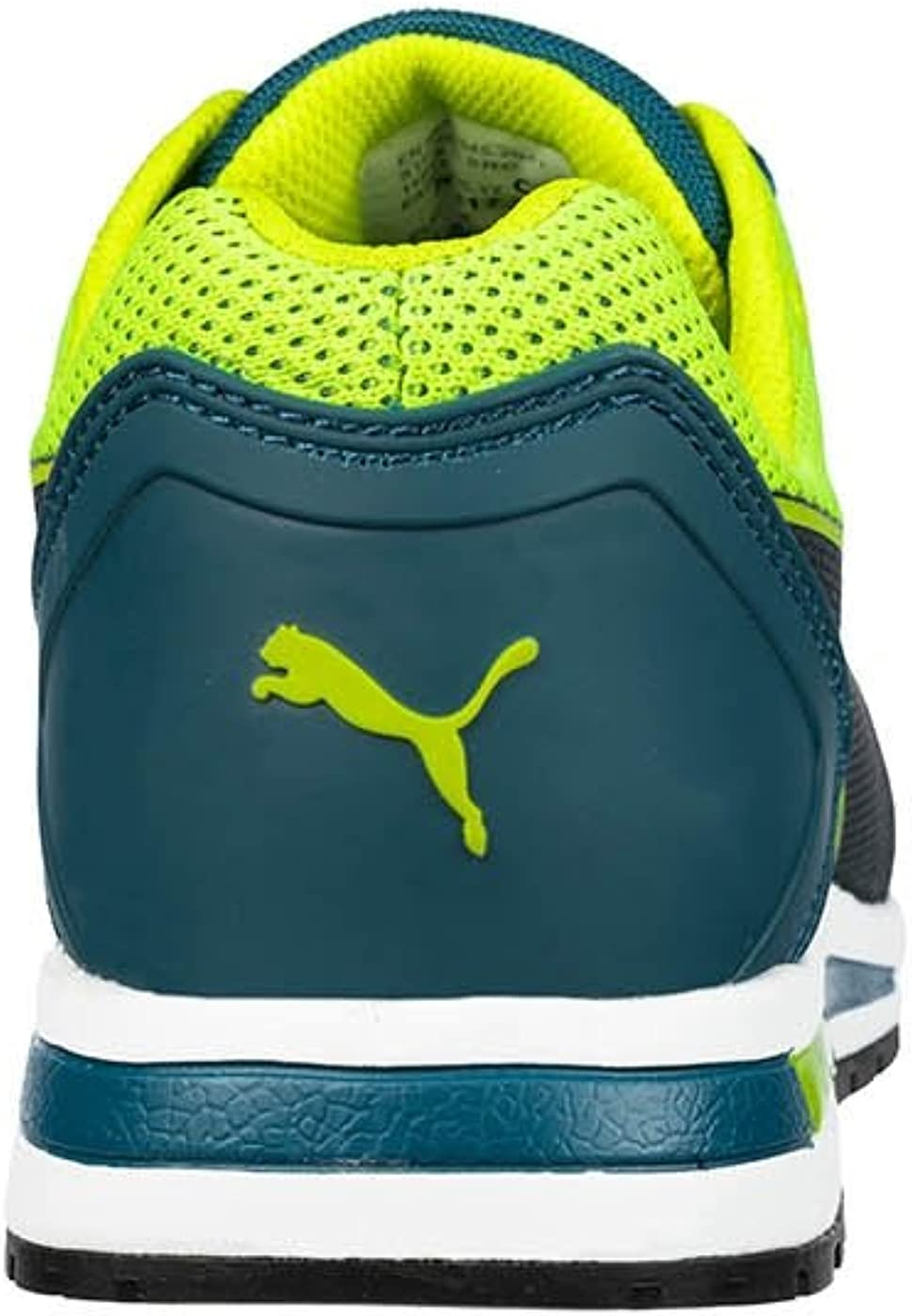 Puma Elevate Knit Green Low 643170 Scarpe antinfortunistiche S1P ESD