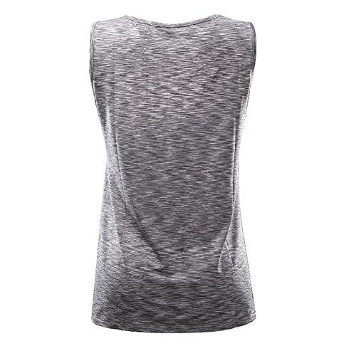 Allattamento Allattamento Vest Yefree senza Canottiere donna maniche Traspirante Top Abbigliamento 5WBB7Ixw8q
