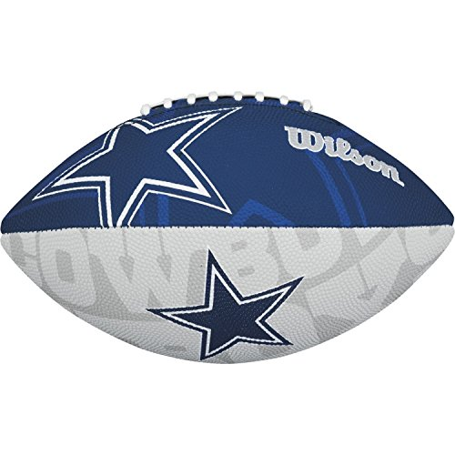 (Wilson NFL Junior Team Logo Football (Dallas Cowboys))