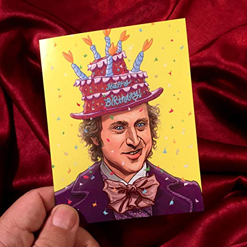 WILLY WONKA Inspired Birthday Card! -