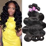 10A Peruvian Virgin Hair Body Wave 3 Bundles 14 16 18 inch 100% Unprocessed Virgin Human Hair Bundles Weave Review