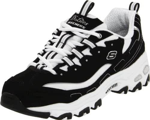 Skechers Sport Women's D'Lites Original Non-Memory Foam Lace-Up Sneaker