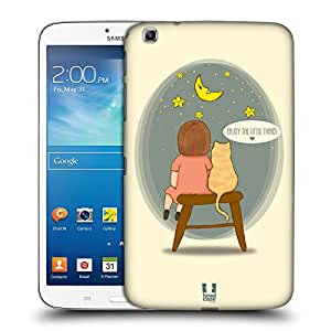 Head Case Designs Enjoy Hopeful Thoughts Hard Back Case for Samsung Galaxy Tab 3 8.0