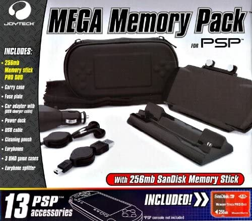 JOYTECH PSP - Mega Memory Pack [Importación italiana]: Amazon.es: Videojuegos