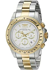 Invicta Mens 18392 Speedway Analog Display Japanese Quartz Two Tone Watch