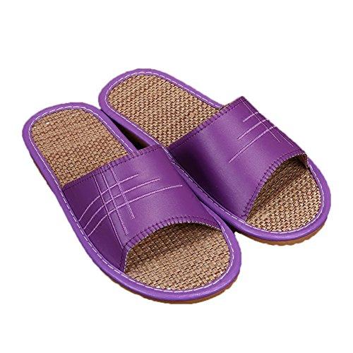 Purple TELLW pour Chaussons Women Femme nqxwSwpOR