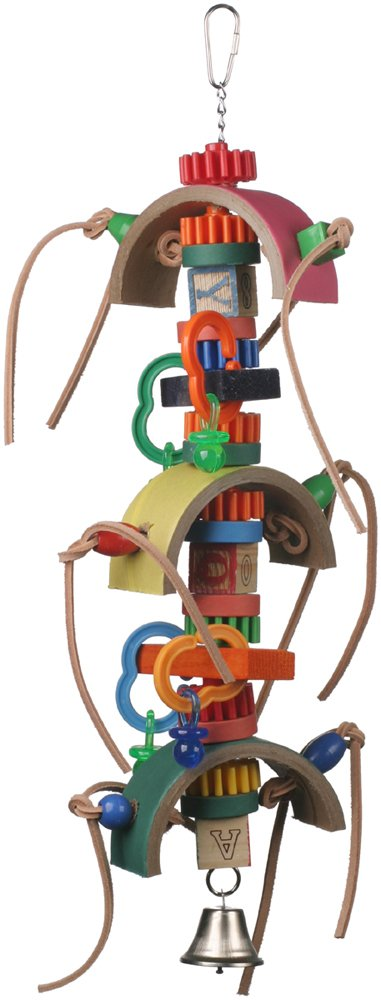 Super Bird Creations 22 by 10-Inch Blast Off Bird Toy, Large