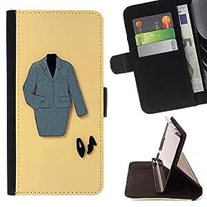 Kingstore / - Un traje de falda con zapatos negros - Samsung Galaxy S3 MINI 8190