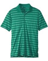 adidas Golf Men's Puremotion 2 Color Stripe Jersey Polo