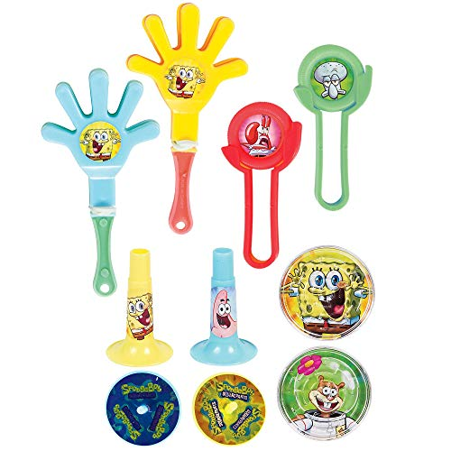 Amscan SpongeBobParty Supplies | Party Favor | Pack of 100 for $<!--$19.99-->