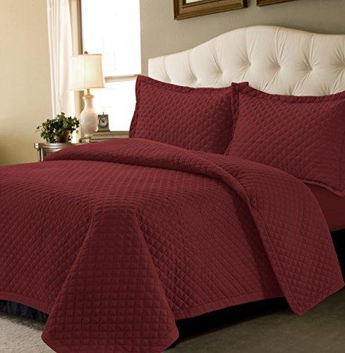 dark red quilt - 2