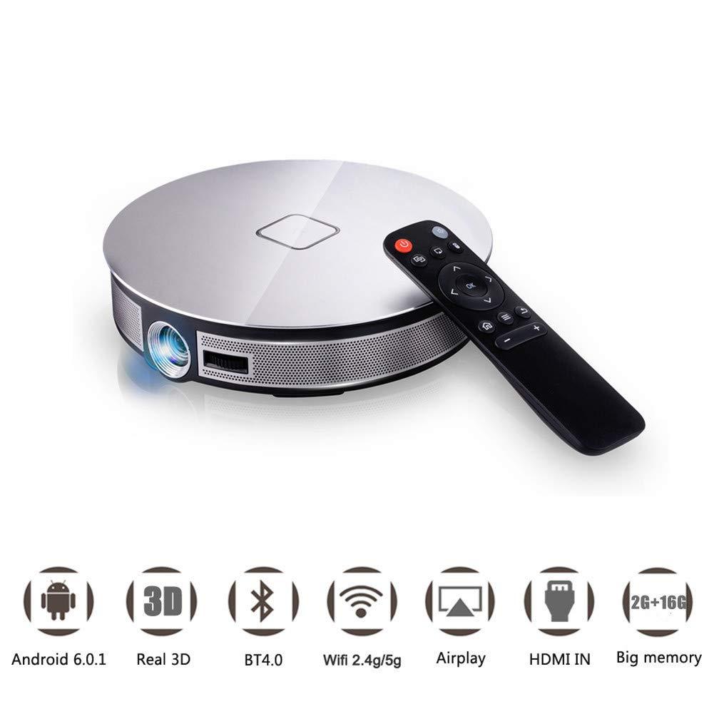 Proyector 3D A8S, proyector de Video con Soporte de 300 ...