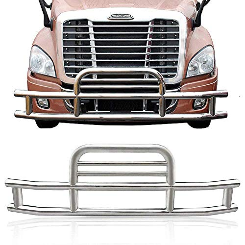 VZ4X4 Freightliner Cascadia 2008-2017 Grille Bumper Guard Deer Guard Polishing Stainless - Guard Deer