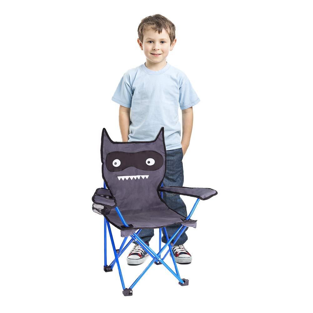 KABOER Kids Outdoor Folding Lawn and Camping Chair with Cup Holder, Little Devil Camp Chair by KABOER (Image #6)