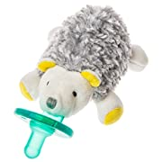 Mary Meyer Wubbanub Soft Toy and Pacifier, Sunshine Hedgehog