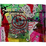 Deny Designs Sophia Buddenhagen Bright Bingo 1 Fleece Throw Blanket, 30 x 40