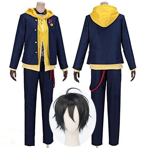 ヒプノシスマイク Buster Bros!!! MC.L.B 山田三郎 コスプレ衣装+ウィッグ