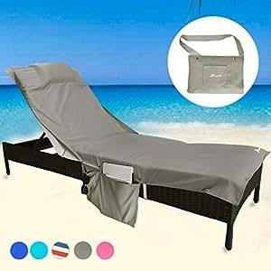 Amazon.com: YOULERBU - Funda para silla de playa con ...