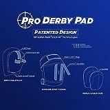 187 Pro Derby Knee Pad Set Black Black XL