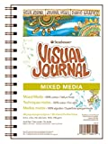 "Strathmore 500 Series Visual Mixed Media Journal, 5.5""x8"" Vellum, Wire Bound, 34 Sheets"