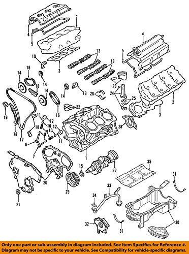 Nissan 11110-8Y00B, Engine Oil Pan
