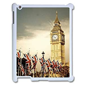 Best Phone case At MengHaiXin Store London Big Ben Pattern 306 For Ipad 2/3/4 Case
