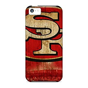 Scratch Protection Cell-phone Hard Cover For Iphone 5c With Customized High Resolution San Francisco 49ers Skin MansourMurray