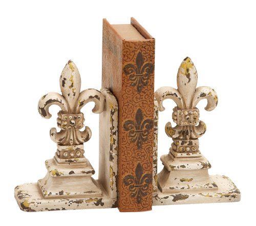 Deco 79 Library Polystone Bookend Pair, 11/9-Inch Review