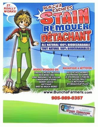 Image result for Buncha Farmer Stain Remover