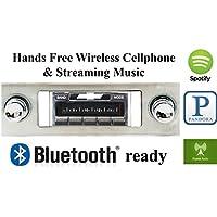 Bluetooth Enabled 1963-1964 Chevy Impala USA-630 II High Power 300 watt AM FM Car Stereo/Radio