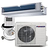PIONEER Air Conditioner Inverter++ Split Heat Pump, 18,000 BTU, 208-230 V