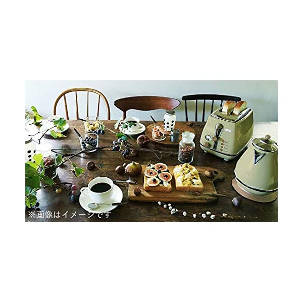 Delonghi Electric kettle (1.0L)「ICONA Vintage Collection」 KBOV1200J-GR (Olive green)【Japan Domestic genuine products】 3