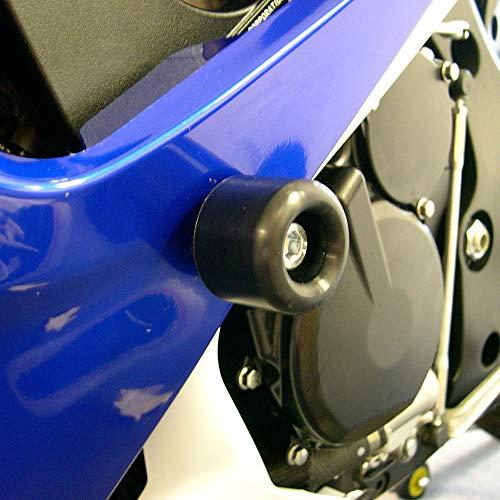 (Shogun 2006 2007 Suzuki GSXR600 GSXR 600 2006 2007 Suzuki GSXR750 GSXR 750 Black Frame Sliders - 750-5429 - MADE IN THE USA )
