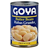 Goya Foods Inc Beans, Butter, 15.50-Ounce (Pack of 24)