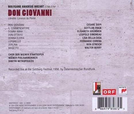 Deh vieni alla finestra o mio tesoro from Don Giovanni KV527