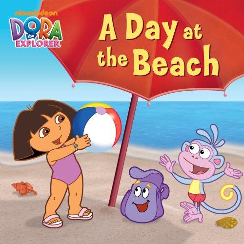 A Day at the Beach (Dora the Explorer) (Dora the Explorer (Simon & Schuster Board Books)) ()