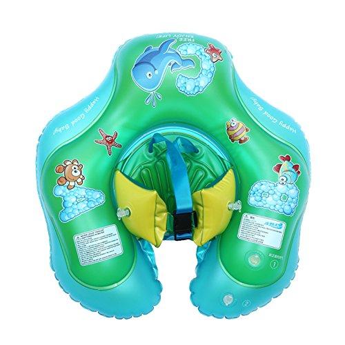 Wincom Dishman Water Sports Baby Swimming Air Mattress Float Swimming Ring Summer Water Fun Toy Kids Seat