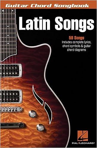 Buy Latin Songs: Guitar Chord Songbook (Guitar Chord Songbooks) Book ...