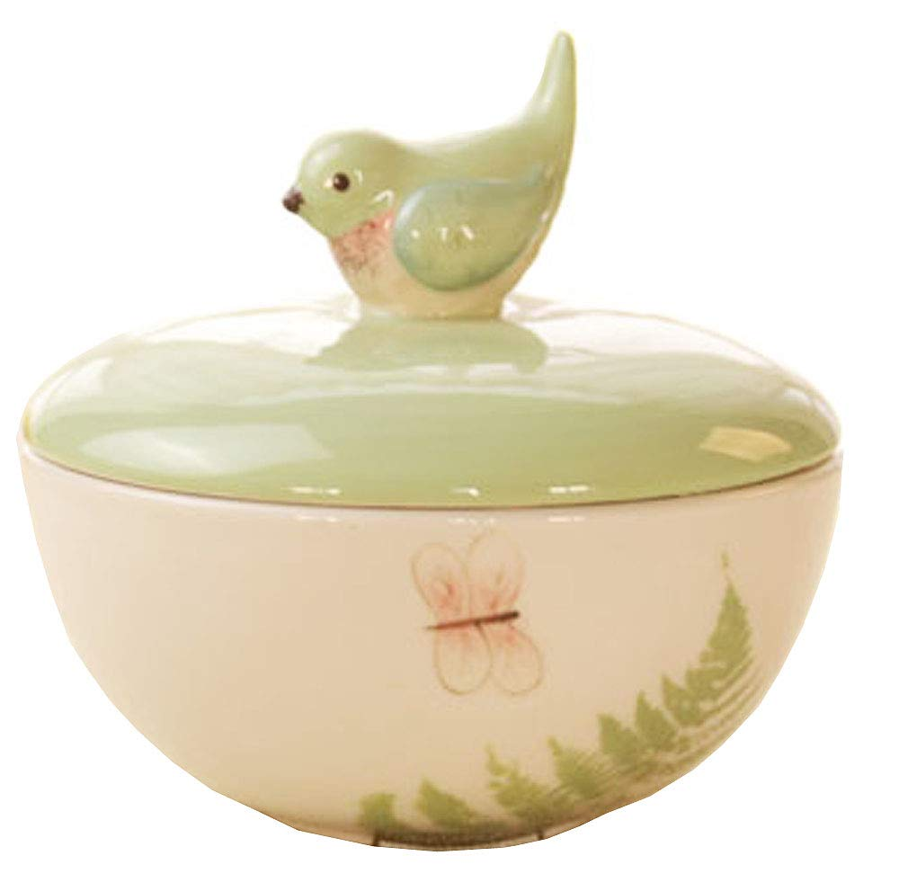 3D Animal Ceramics Rice/Soup/Doodle Bowl with Lid