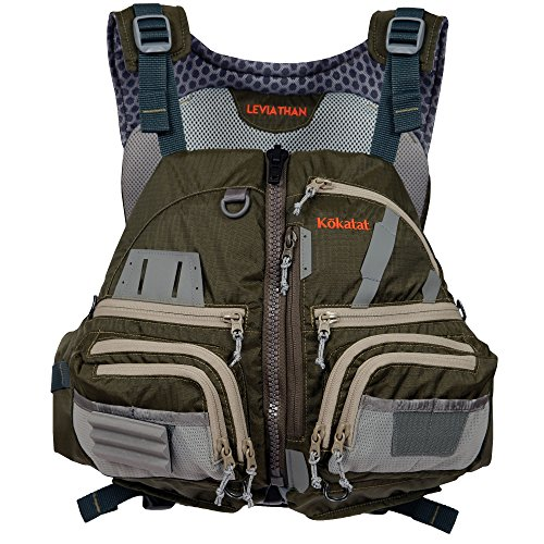 Kokatat Fishing Kayak Lifejacket (PFD)-Olive-XL/XXL
