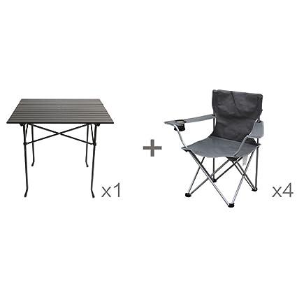 Anna Silla de Escalada Mesas y sillas Plegables al Aire ...