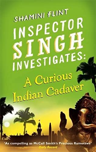 book cover of A Curious Indian Cadaver